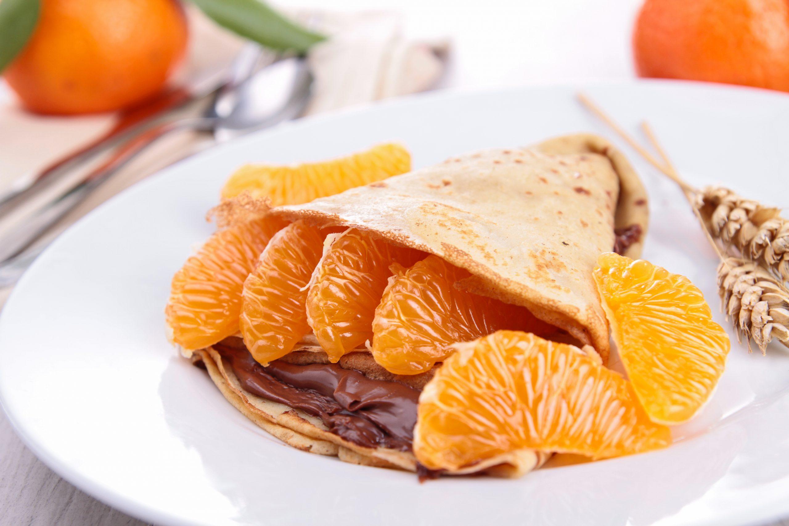 crepes-mit-schokolade-und-mandarine
